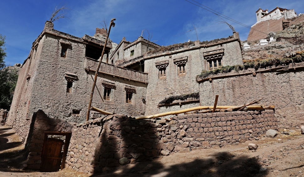 Old homes in Basgo, Ladakh
