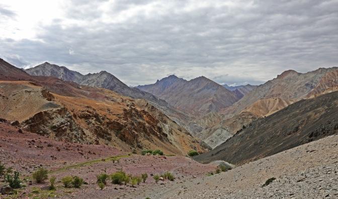 Zanskar Range from the Hidden Valleys Trek