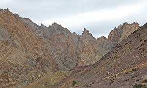 Rugged towers of the Zanskar Range
