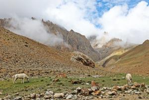 Clouds in the Sumdan Chu Valley