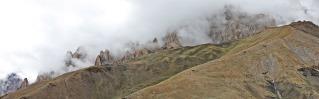 Cloud formations over the Zanskar Range