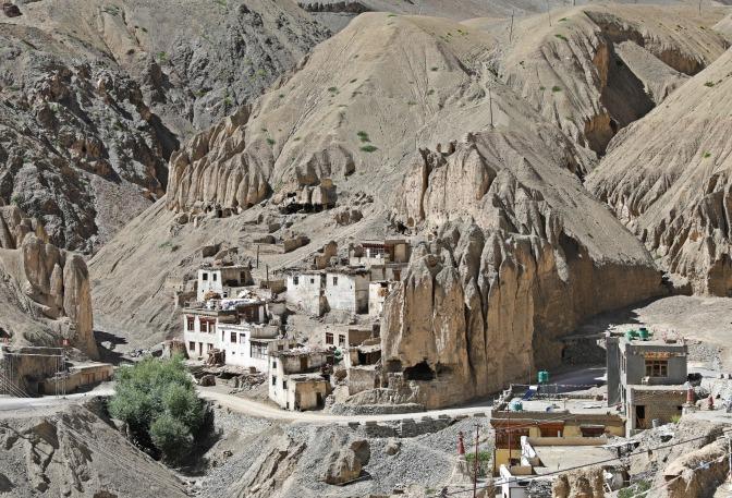 Old homes in Lamayuru