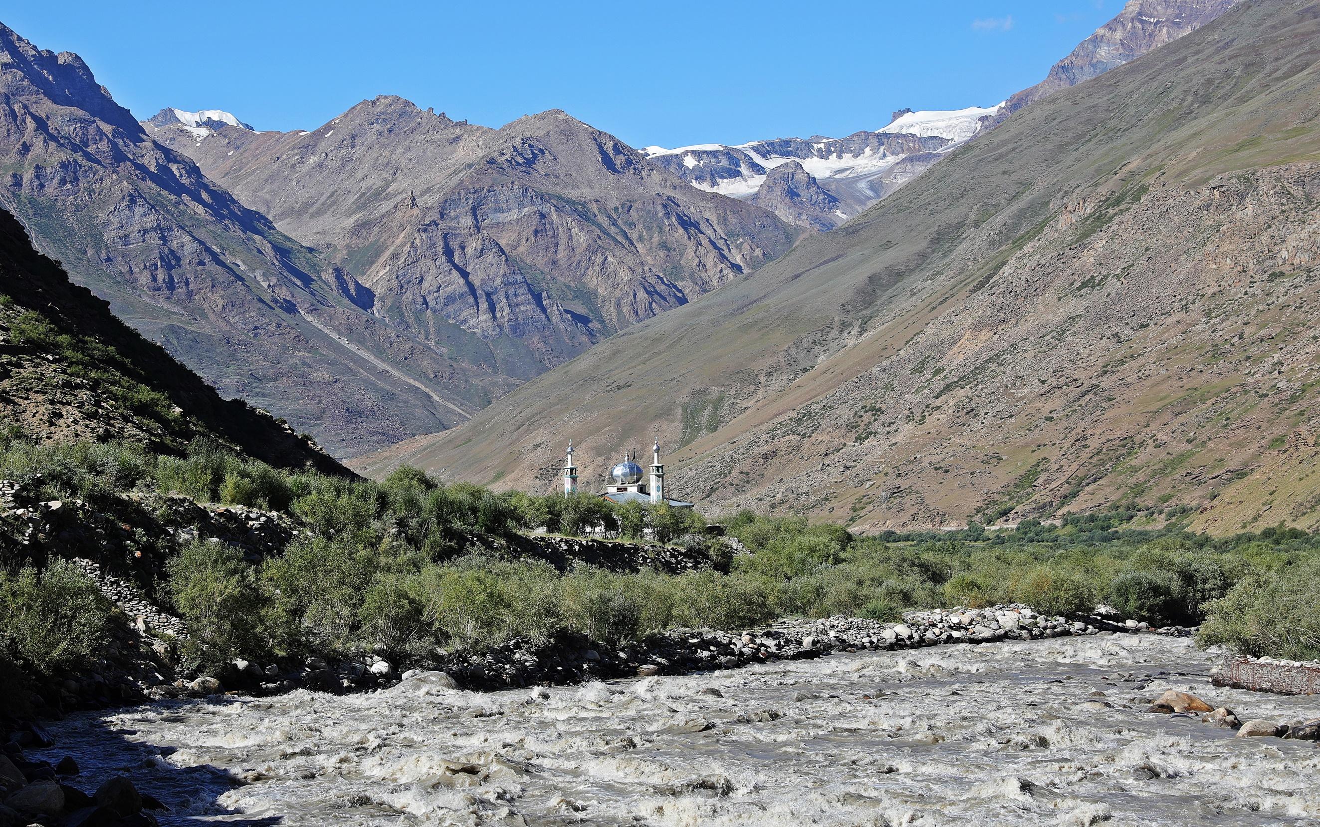 Mosque in the Zanskar region
