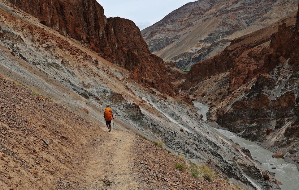 Trek to Phuktal Gompa