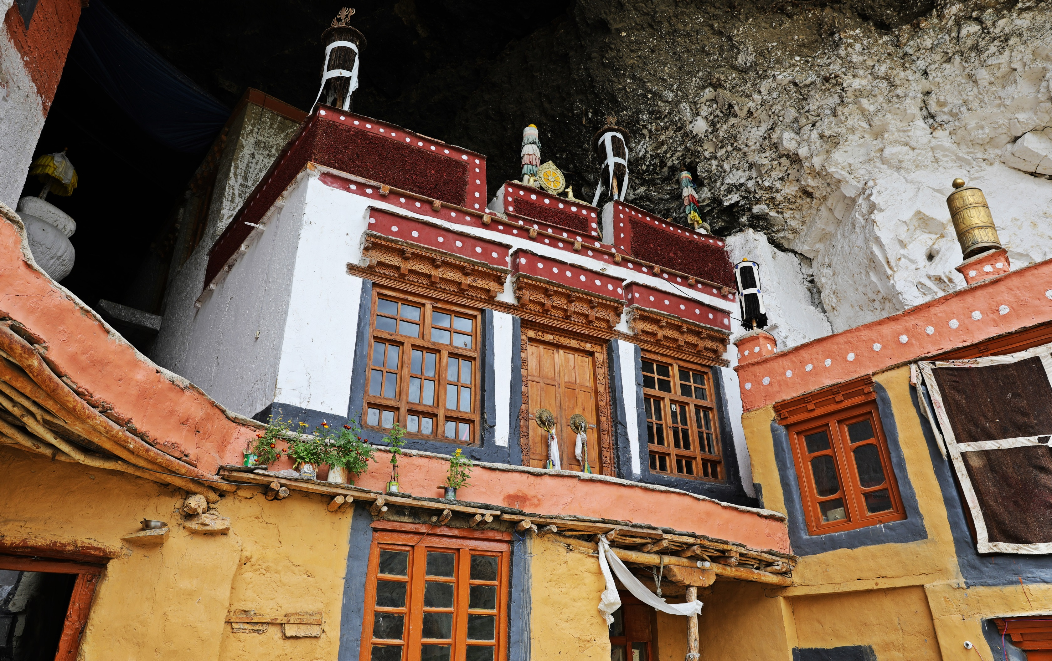 Temple in Phuktal Gompa
