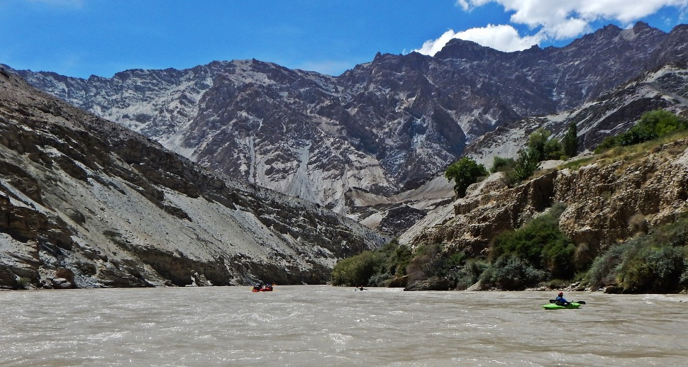 Whitewater rafting on the Zanskar River