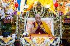 A puja with the Dalai Lama
