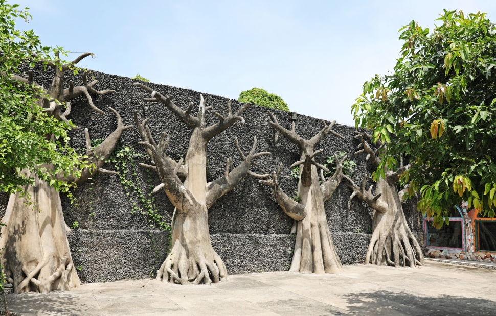 Tree sculptures, Rock Garden, Chandigarh