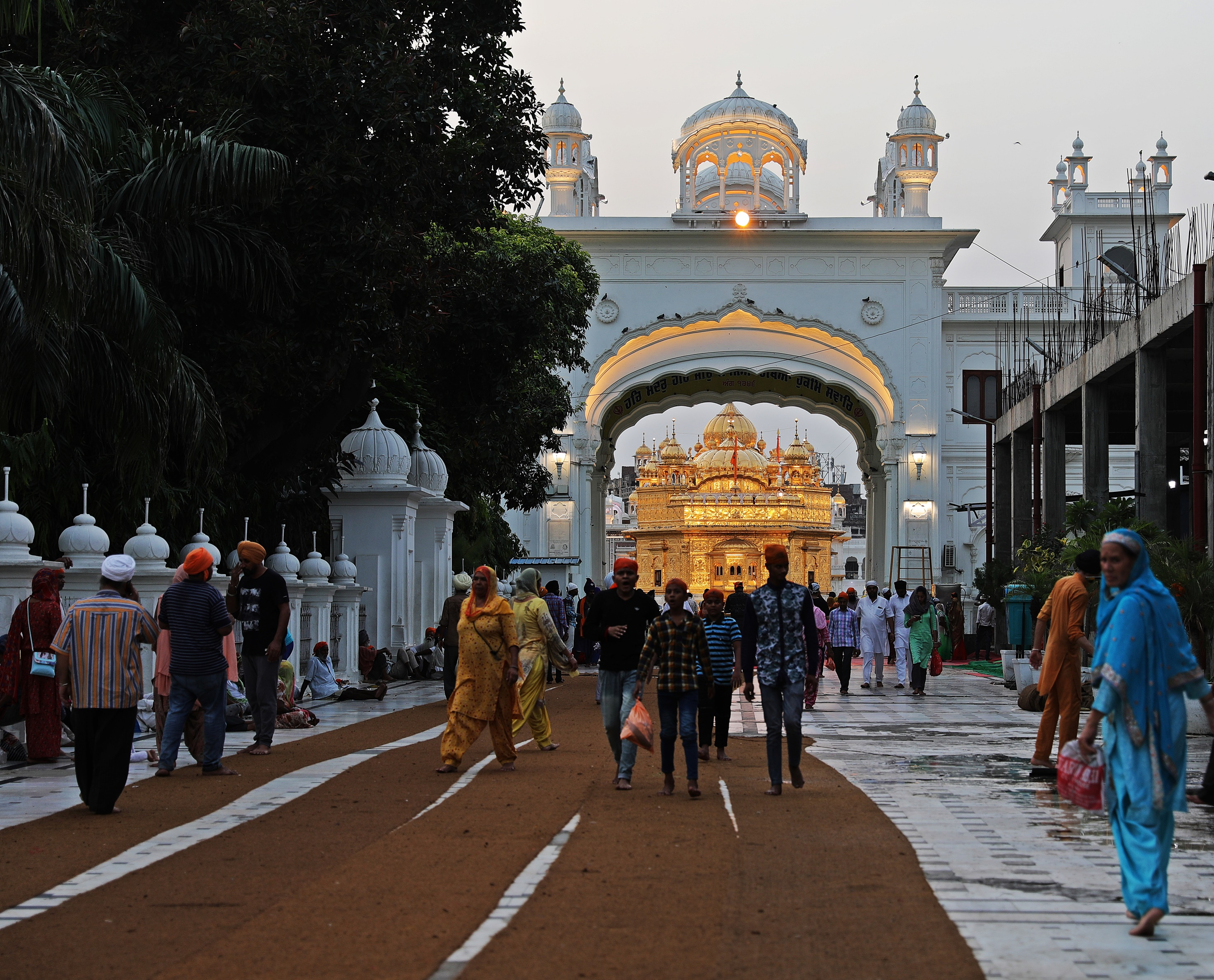 Entrance Gate to the Golden Temple