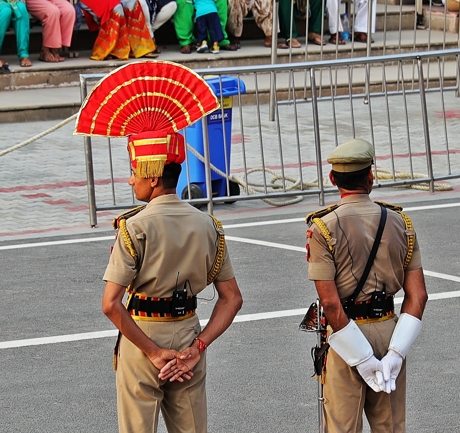 Rooster Hat, Wagah Border Ceremony