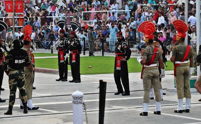 Wagah Border Closing Ceremony