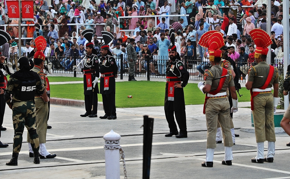 Wagah Border Closing Ceremony