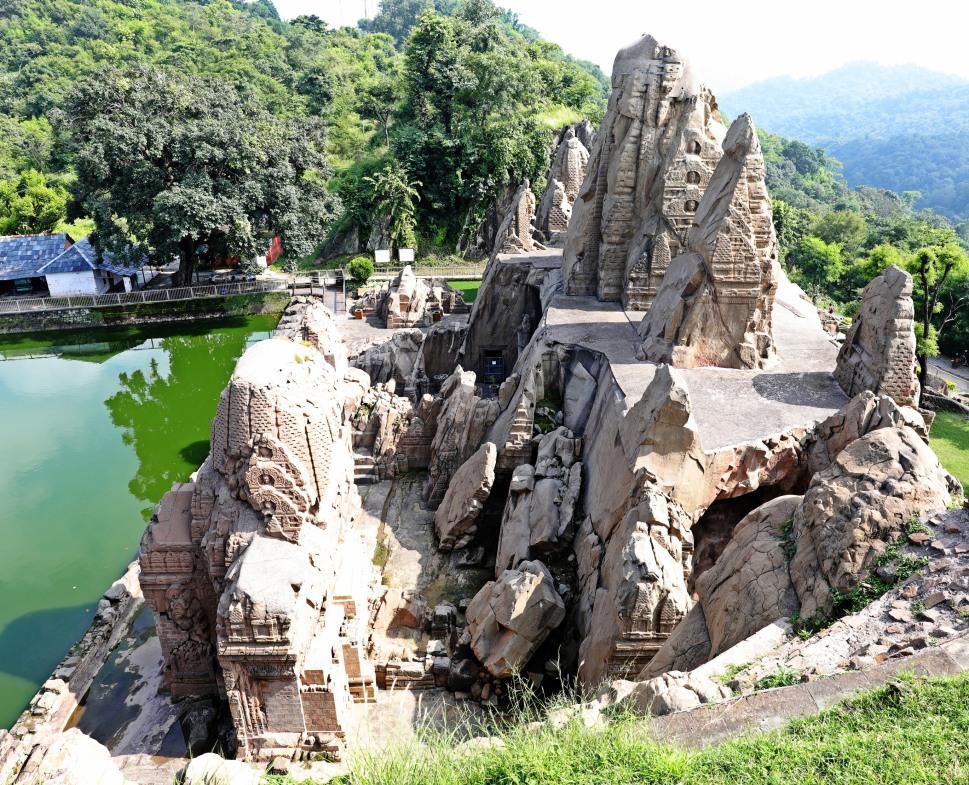 Masrur Temple, Himachal Pradesh
