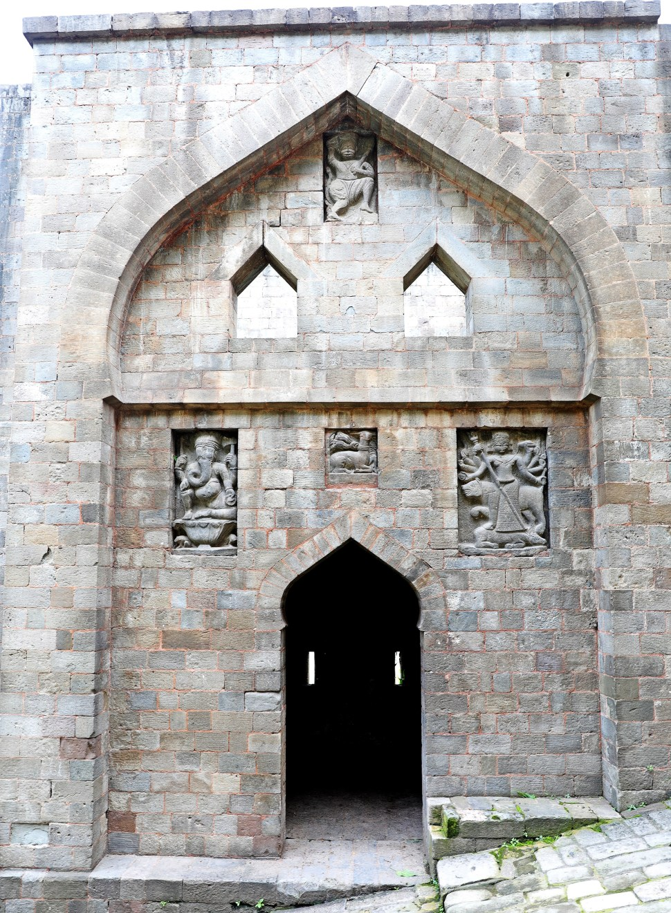 One of the gates of Kangra Fort, Himachal Pradesh
