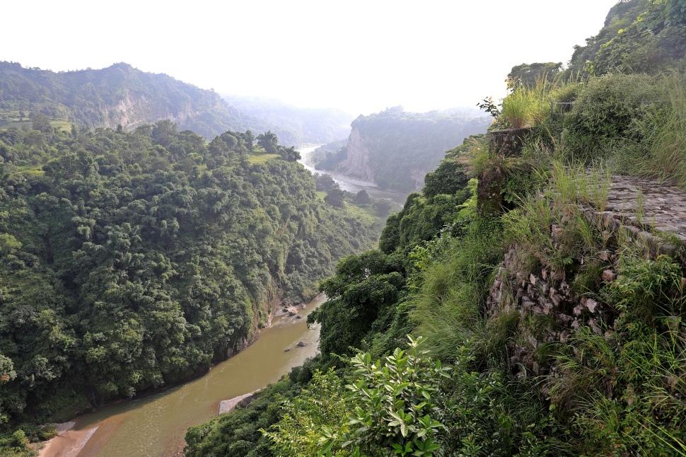 View from Kangra Fort, Himachal Pradesh