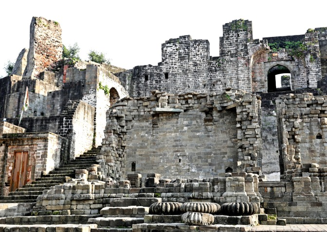 Palace, Kangra Fort, Himachal Pradesh