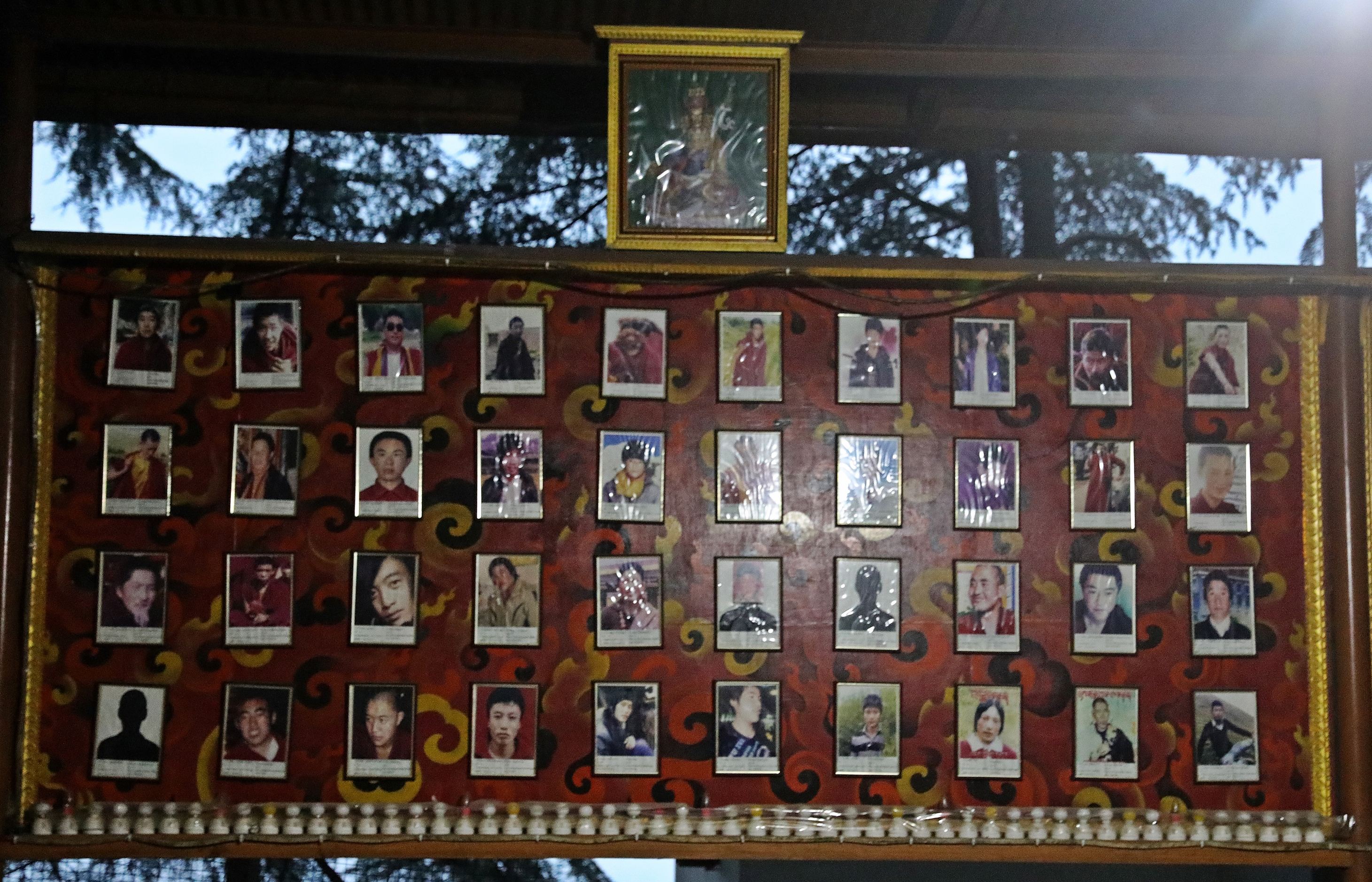 Photos of TIbetans who self-immolated
