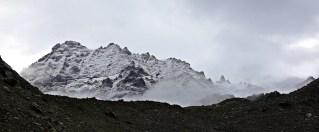 Fresh snow in the morning, Hampta Pass Trek