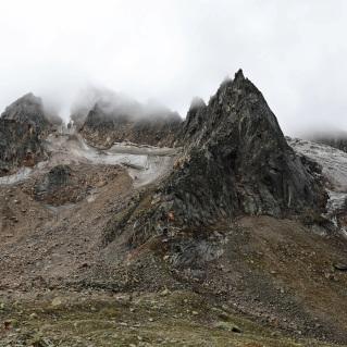 Indrasan Glacier, Hampta Pass Trek