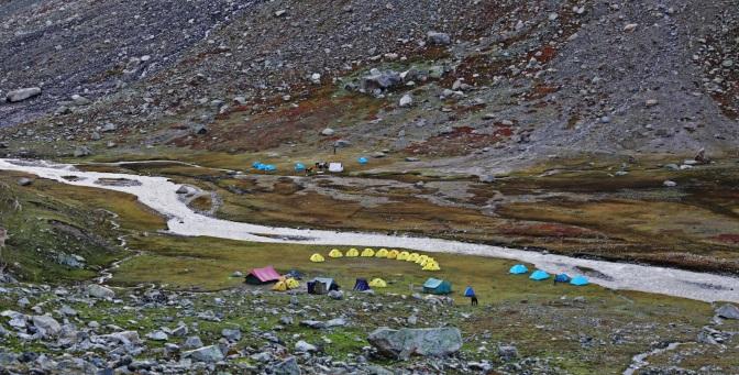 Camp 3, Hampta Pass Trek
