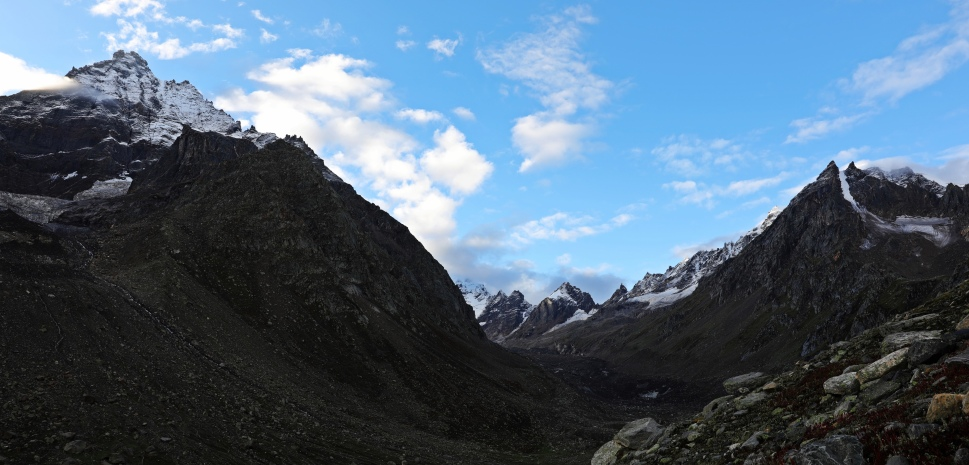 Indrasan Peak, Hampta Pass Trek