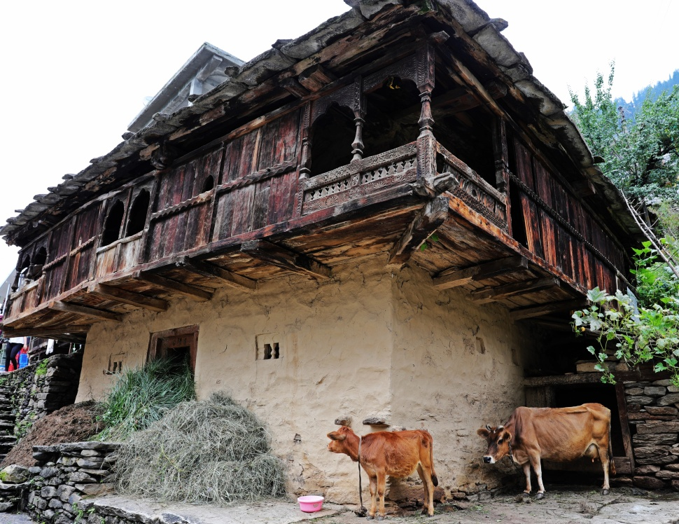 Old house in Vashisht, Himachal Pradesh