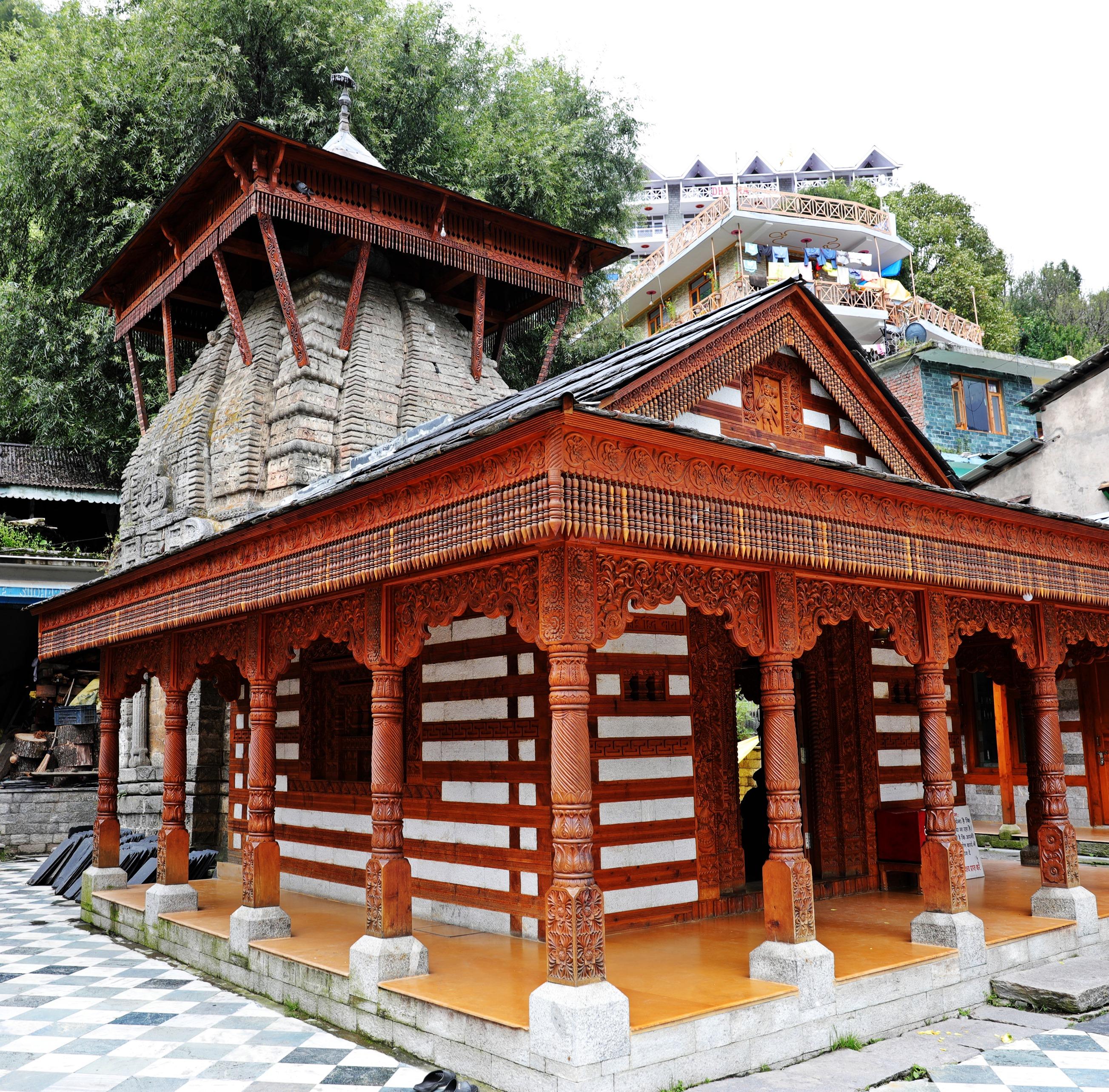 Hindu Temple, Vashisht, Himachal Pradesh