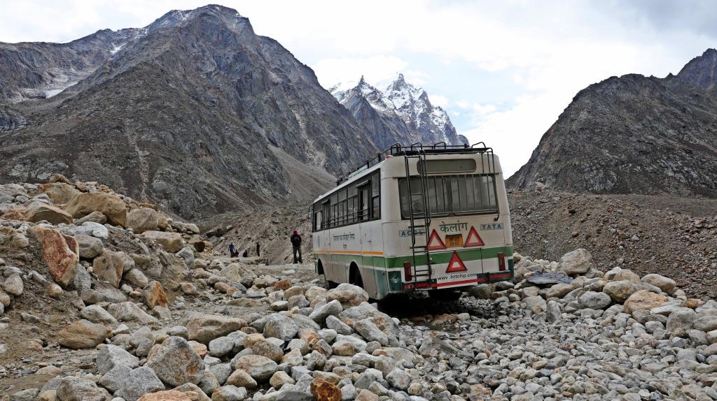 Mountain road in Himachal Pradesh