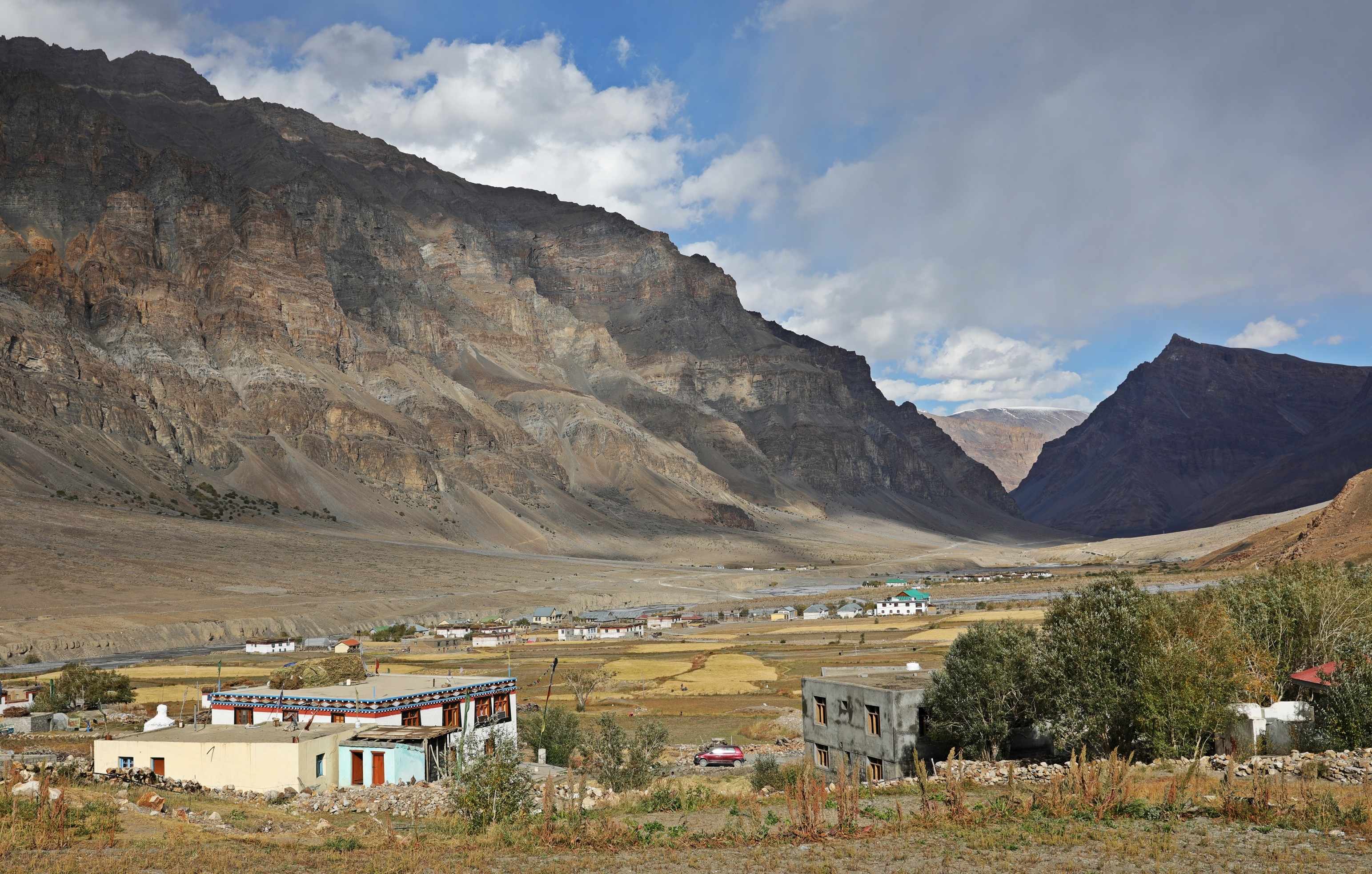 Entering Spiti Valley