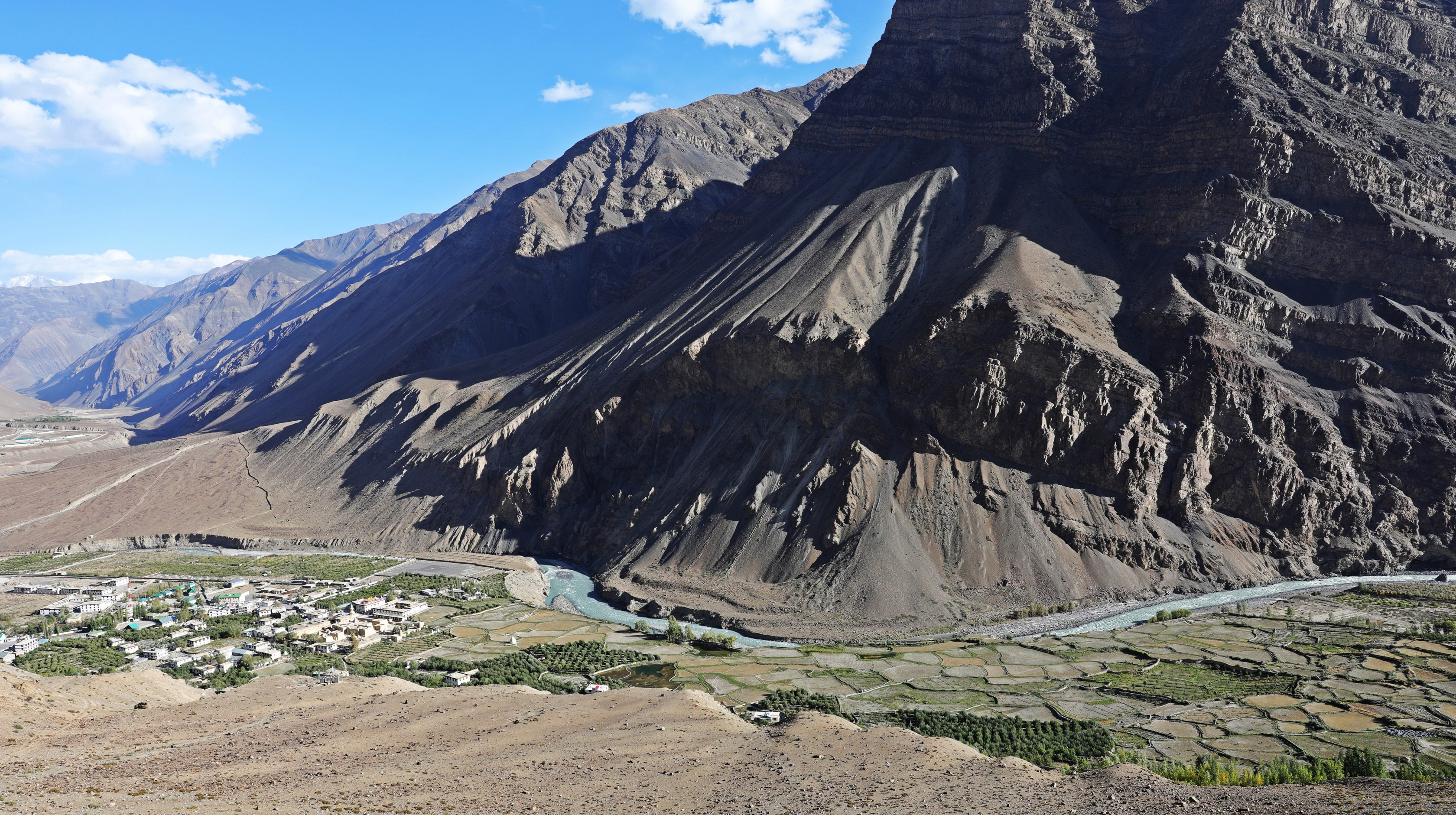 Spiti Valley and the town of Tabo