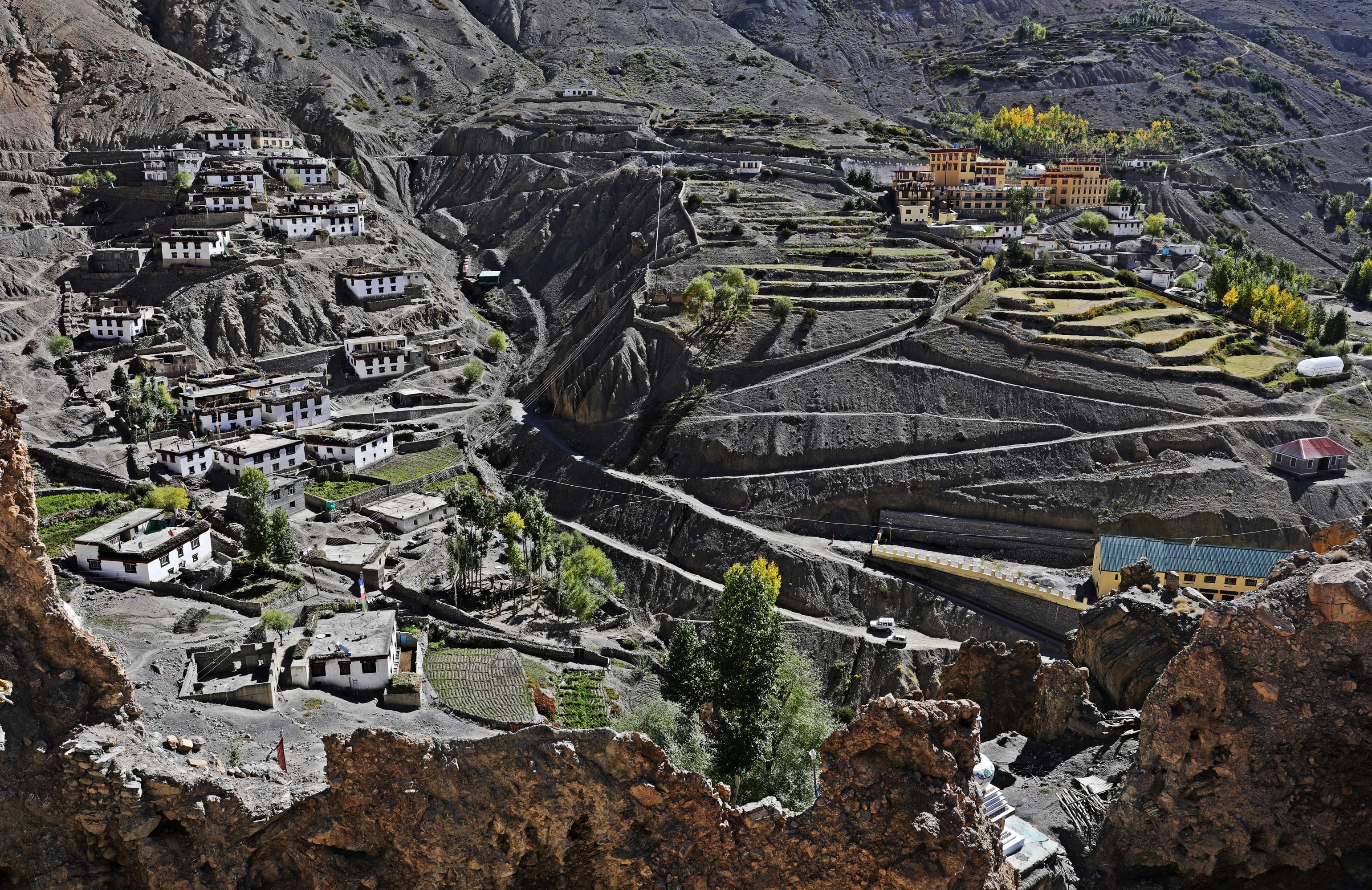 Dhankar village, Himachal Pradesh