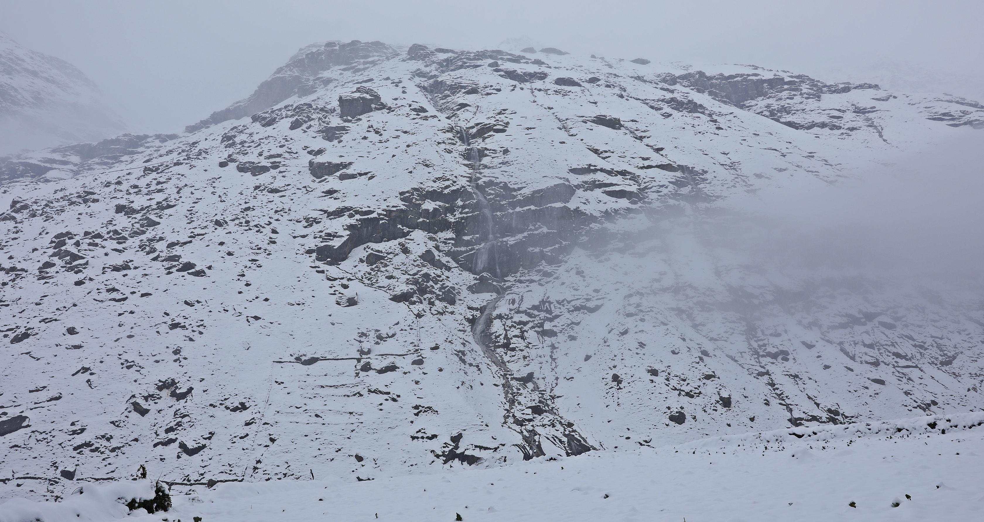 Blizzard in Khoksar