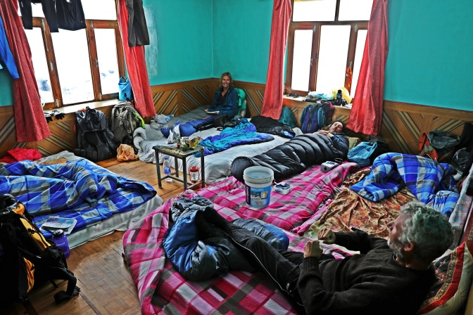Our refuge for 4 days