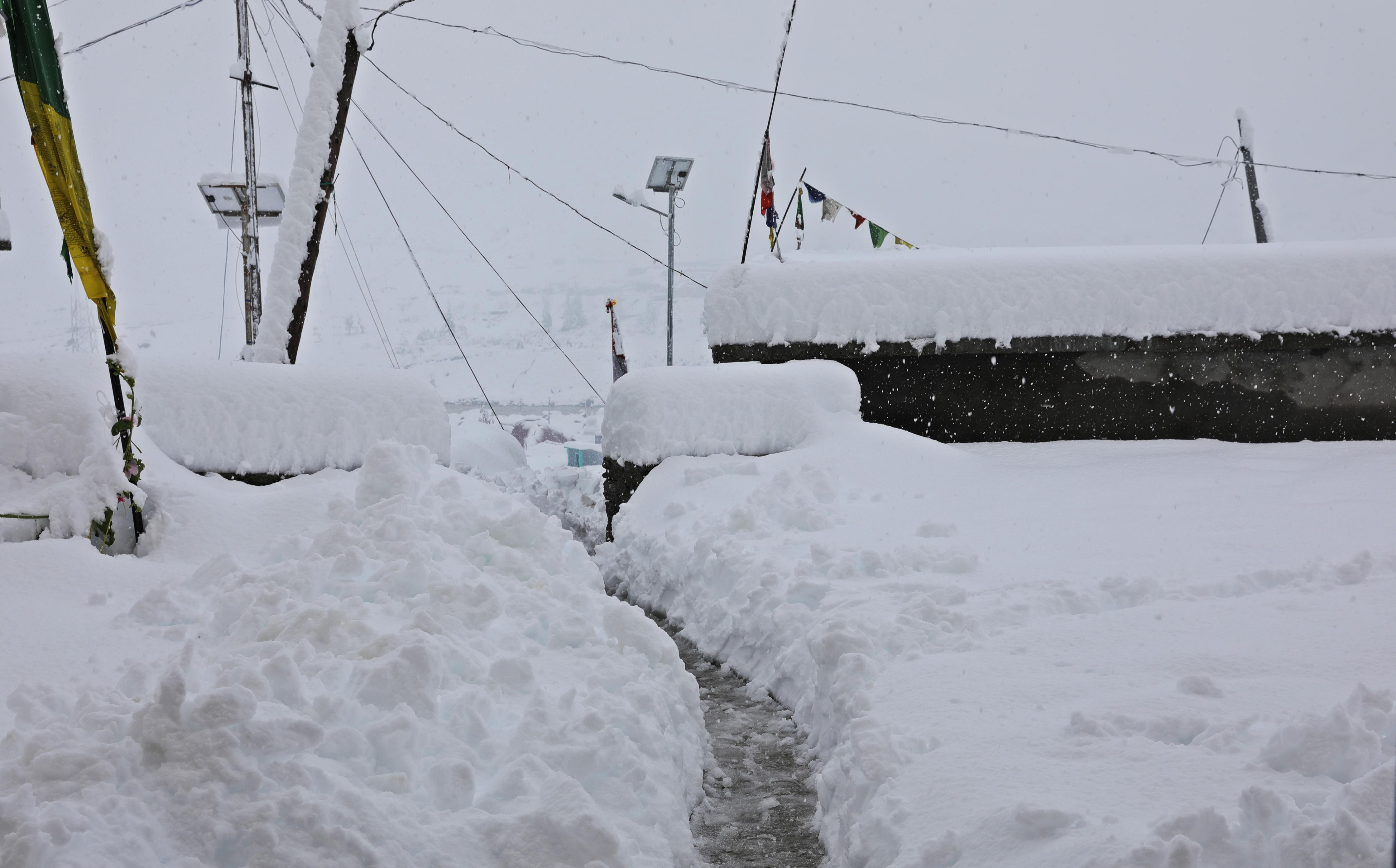Day 3 of the blizzard in Khoksar
