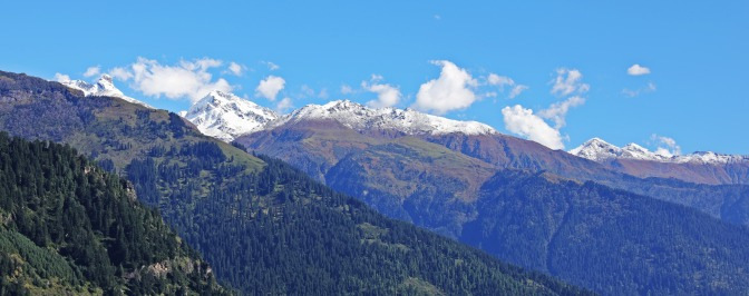 Mountain view from Old Manali