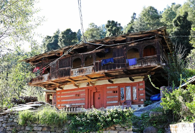 Old house in Old Manali