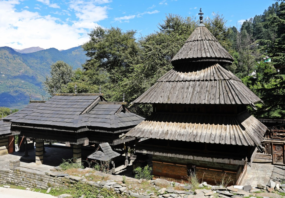 Hindu Temple, Naggar, Himachal Pradesh