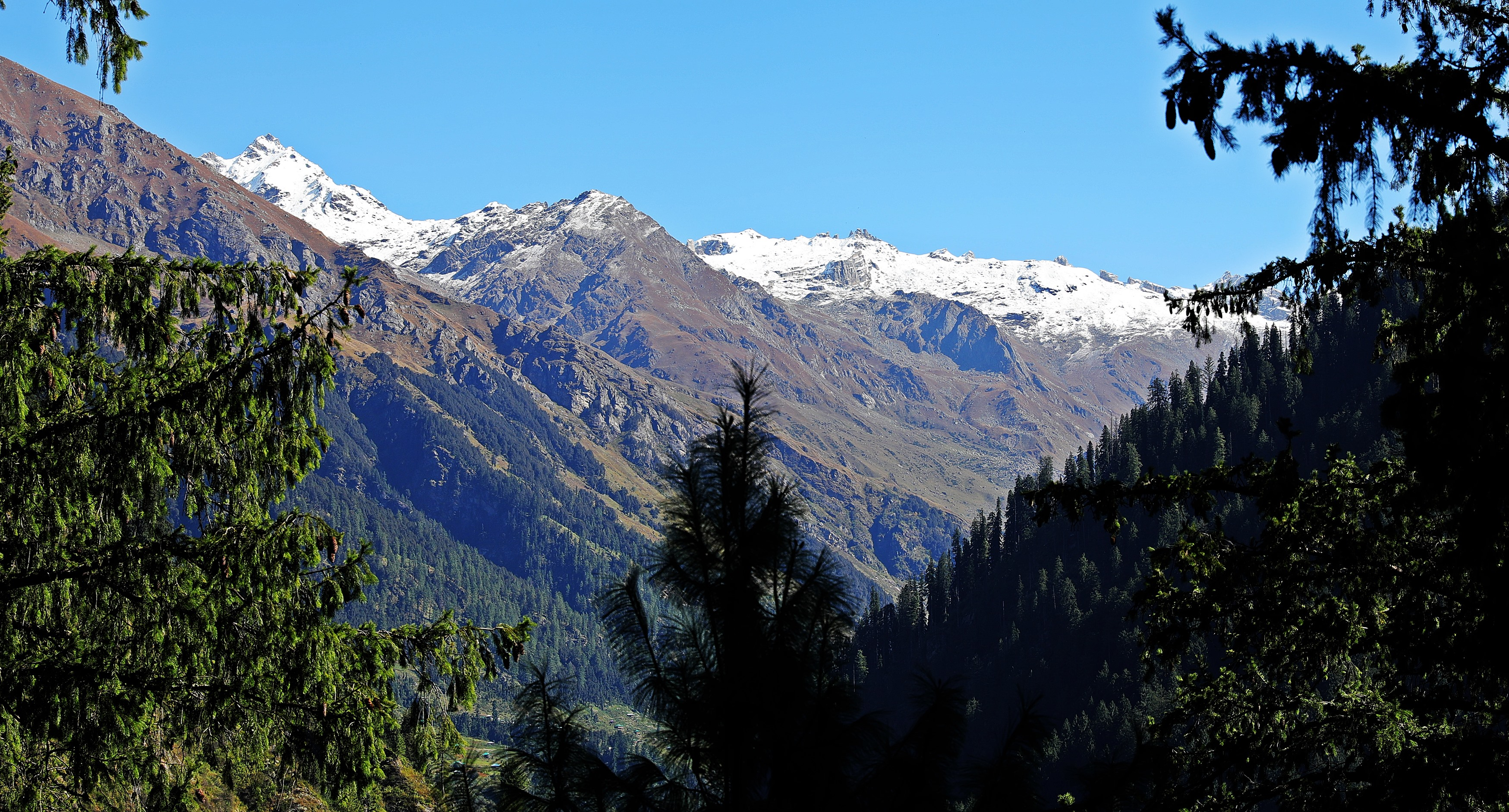 View from Malana, Himachal Pradesh