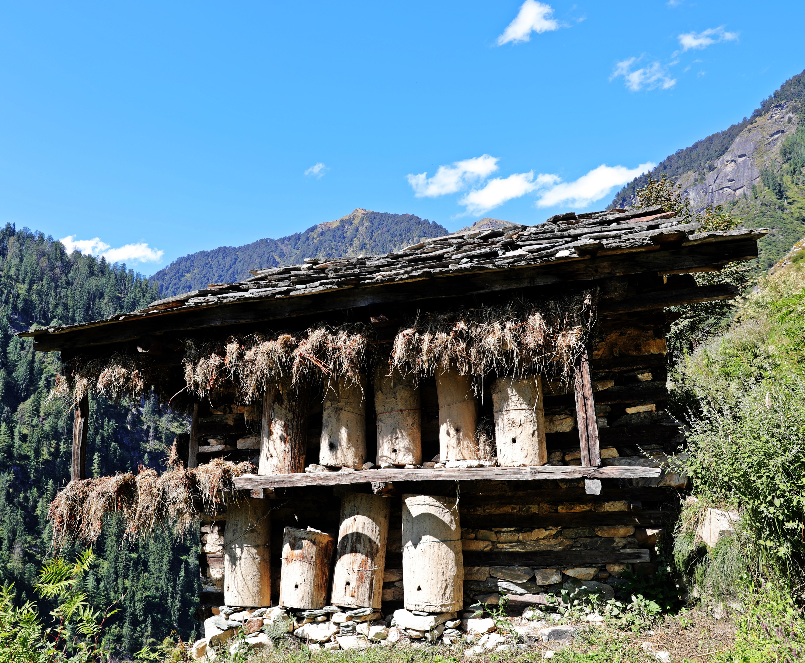 Shrine, Malana, Himachal Pradesh