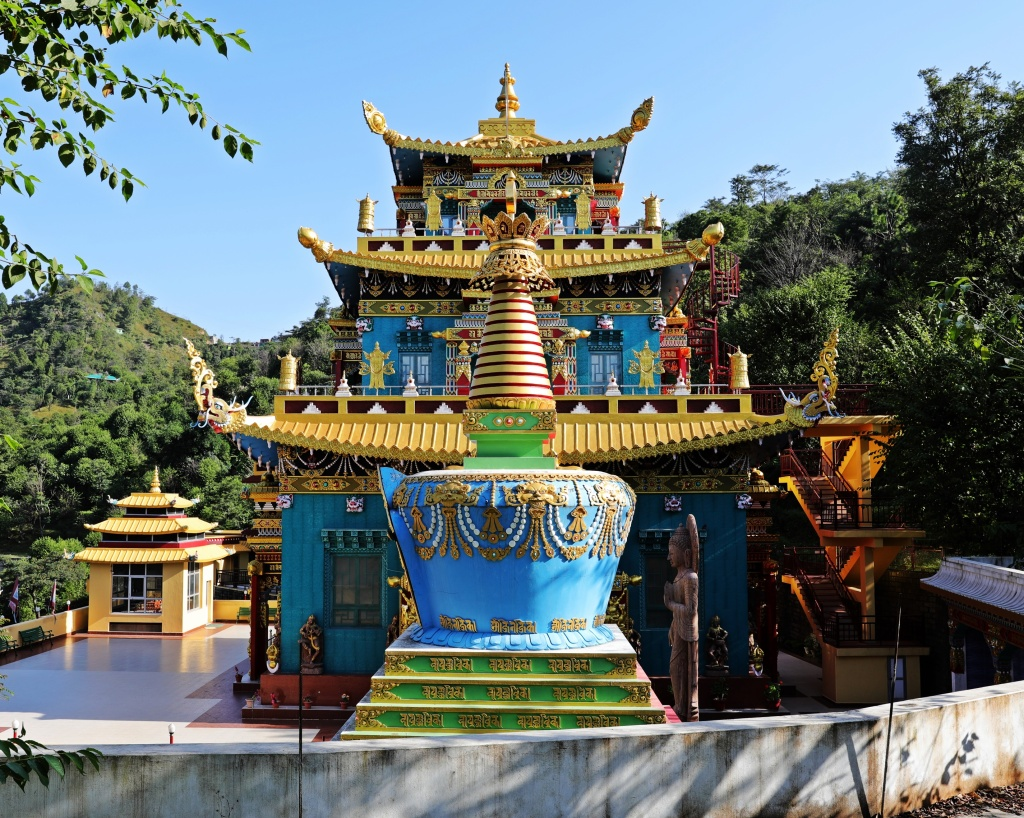Buddhist Gompa, Rewalsar Lake, Himachal Pradesh