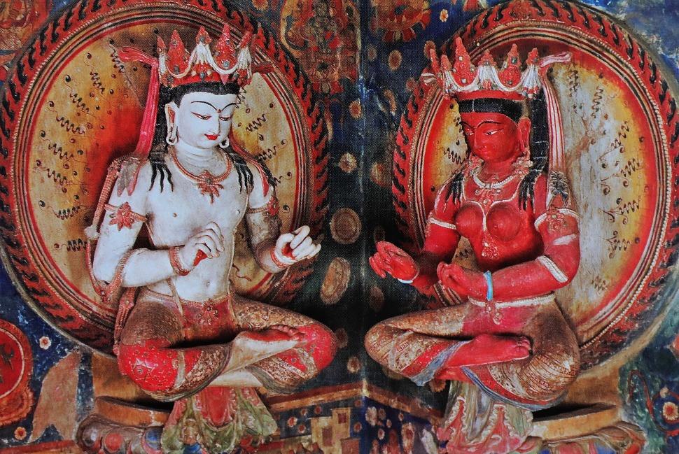 Ancient mud Bodhisattvas, Tabo Gompa