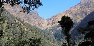 View of Kuari Pass