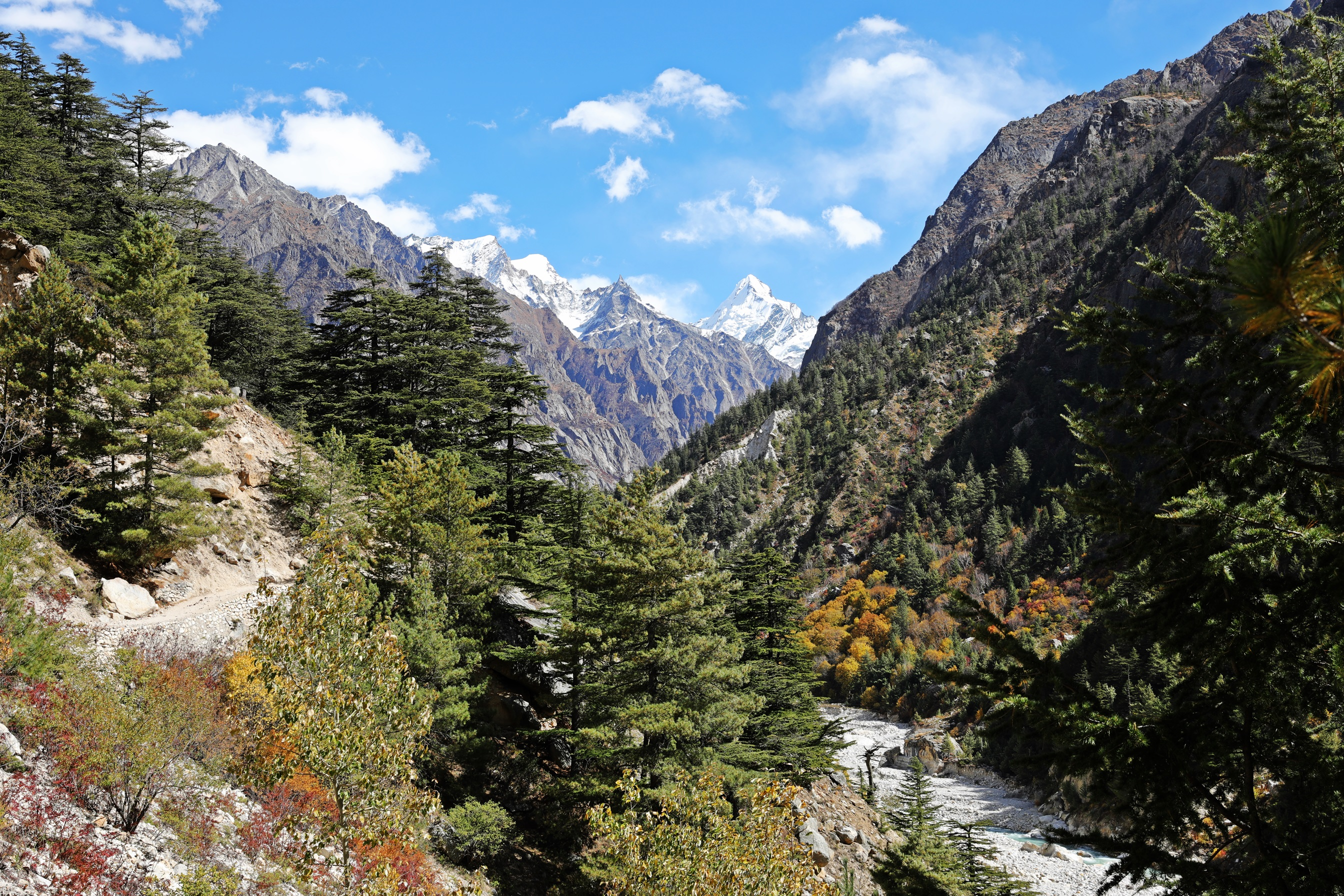 Bhagirathi Valley and Gangotri 1
