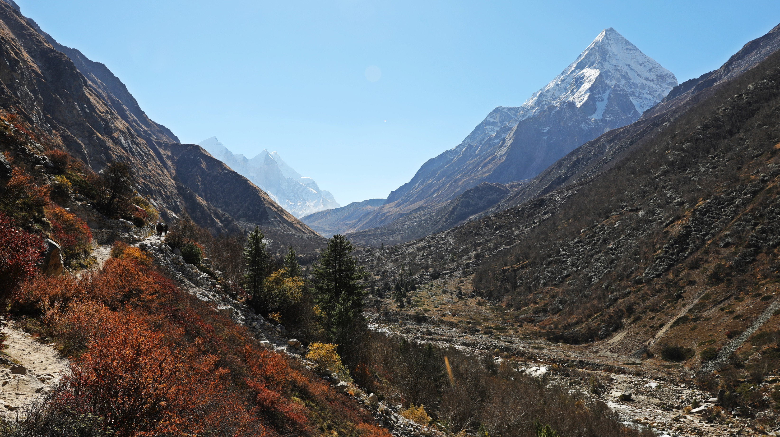 Meru North and the Bhagirathi Valley