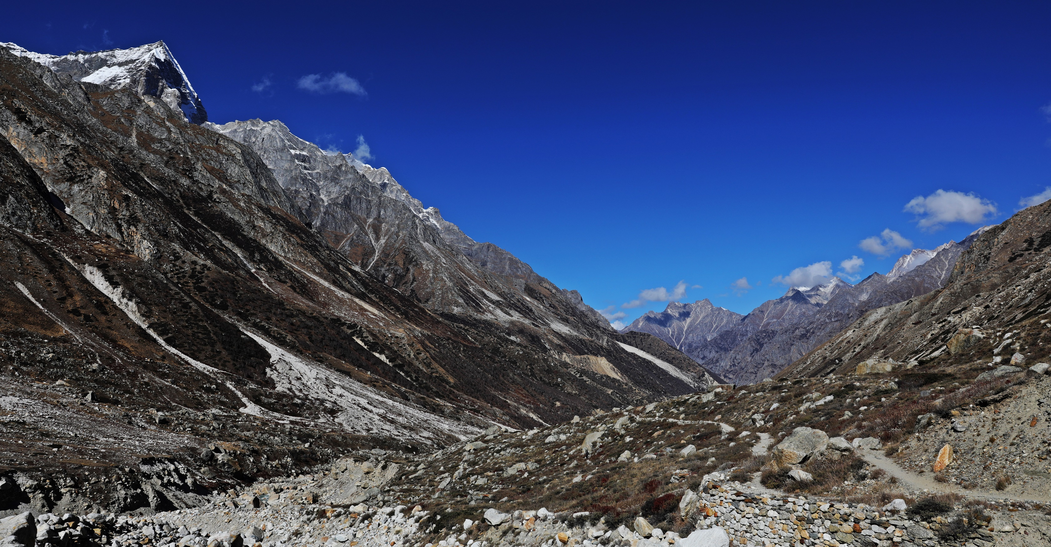 Valley looking toward Gangotri