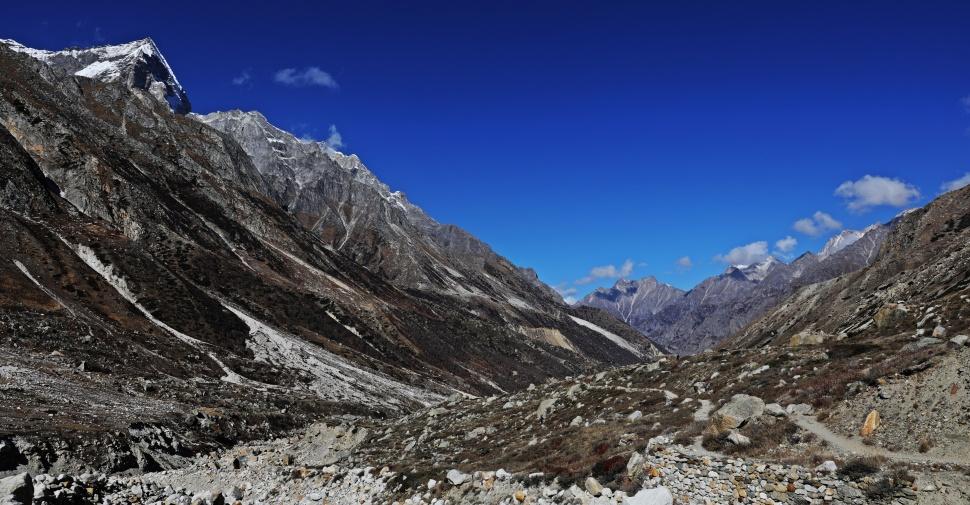 Valley looking toward Gangotri
