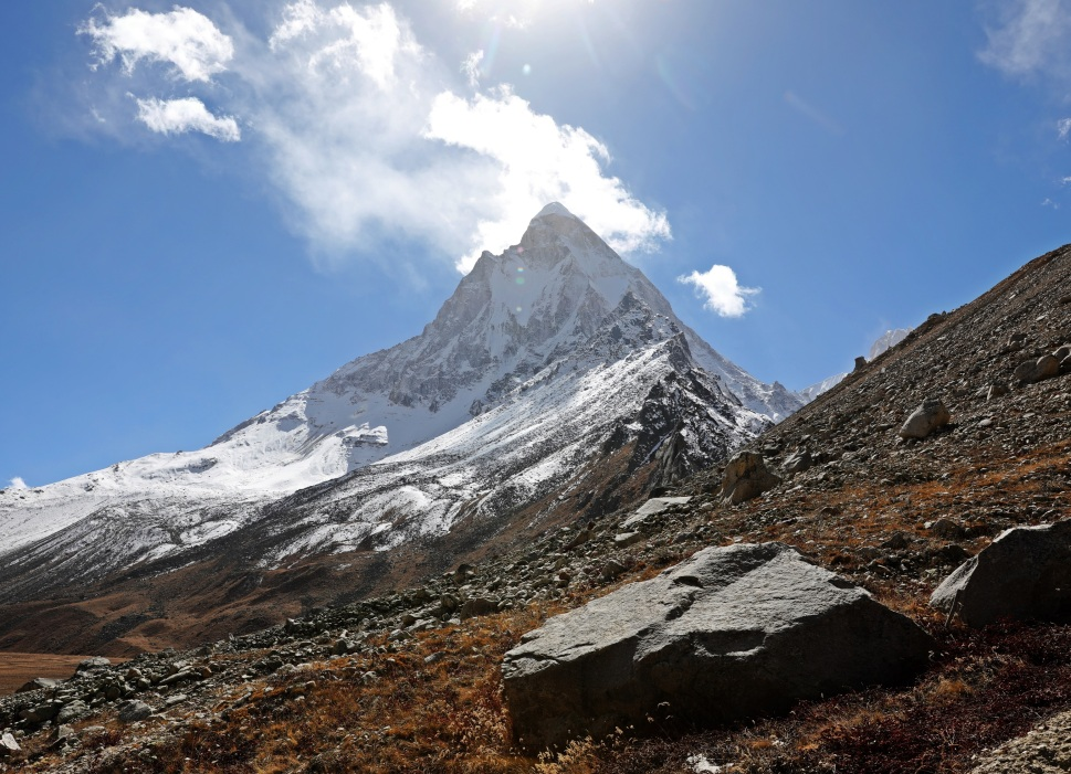 View of Mt. Shivling from Tapovan