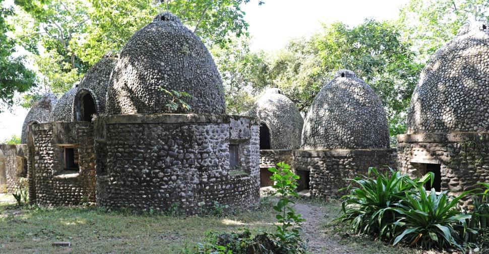 Meditation caves in The Beatles ashram