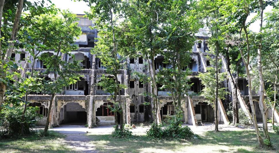 Beatles ashram residence