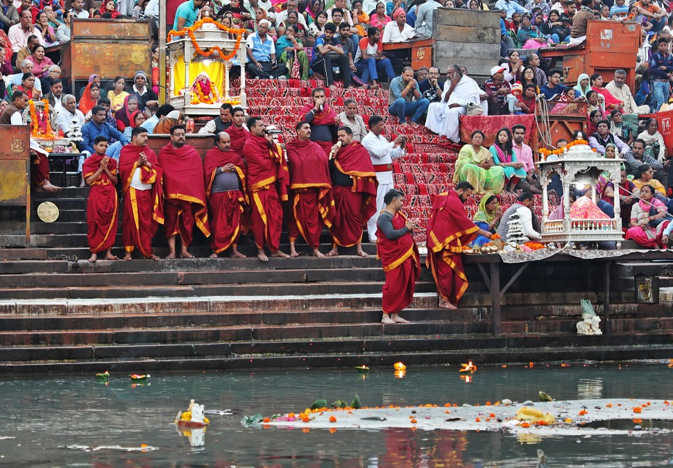 Pundits, Ganga Aarti, Haridwar
